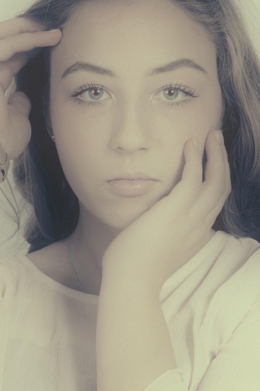 2018-01-24: Portret-bewerking met model Danine foto Beloved Memories Eindhoven