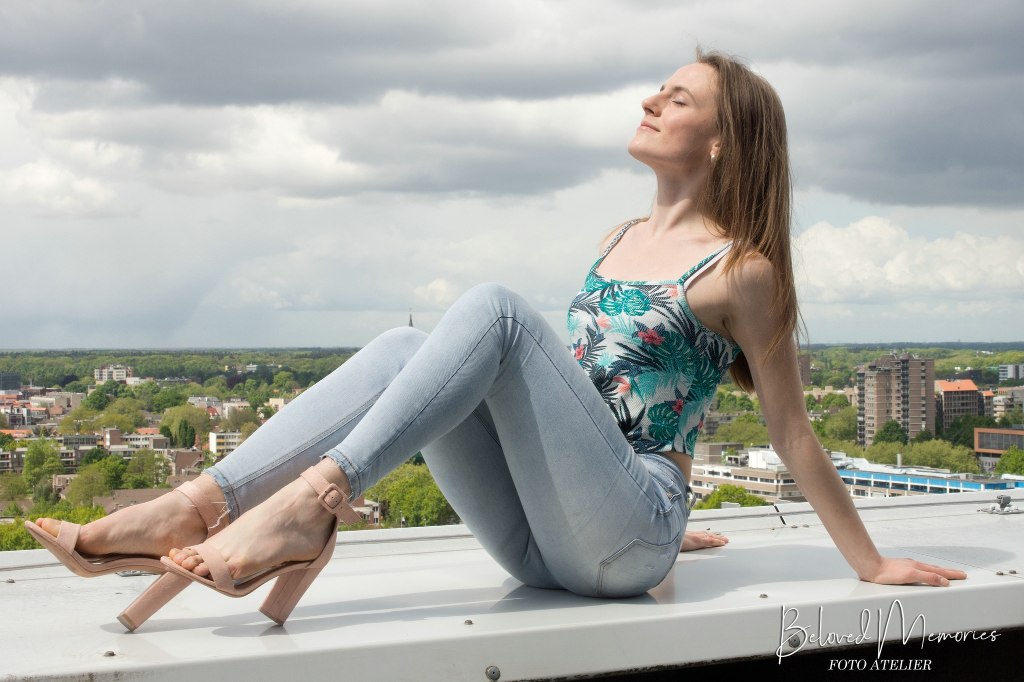 Fotoshoot met model Ieva