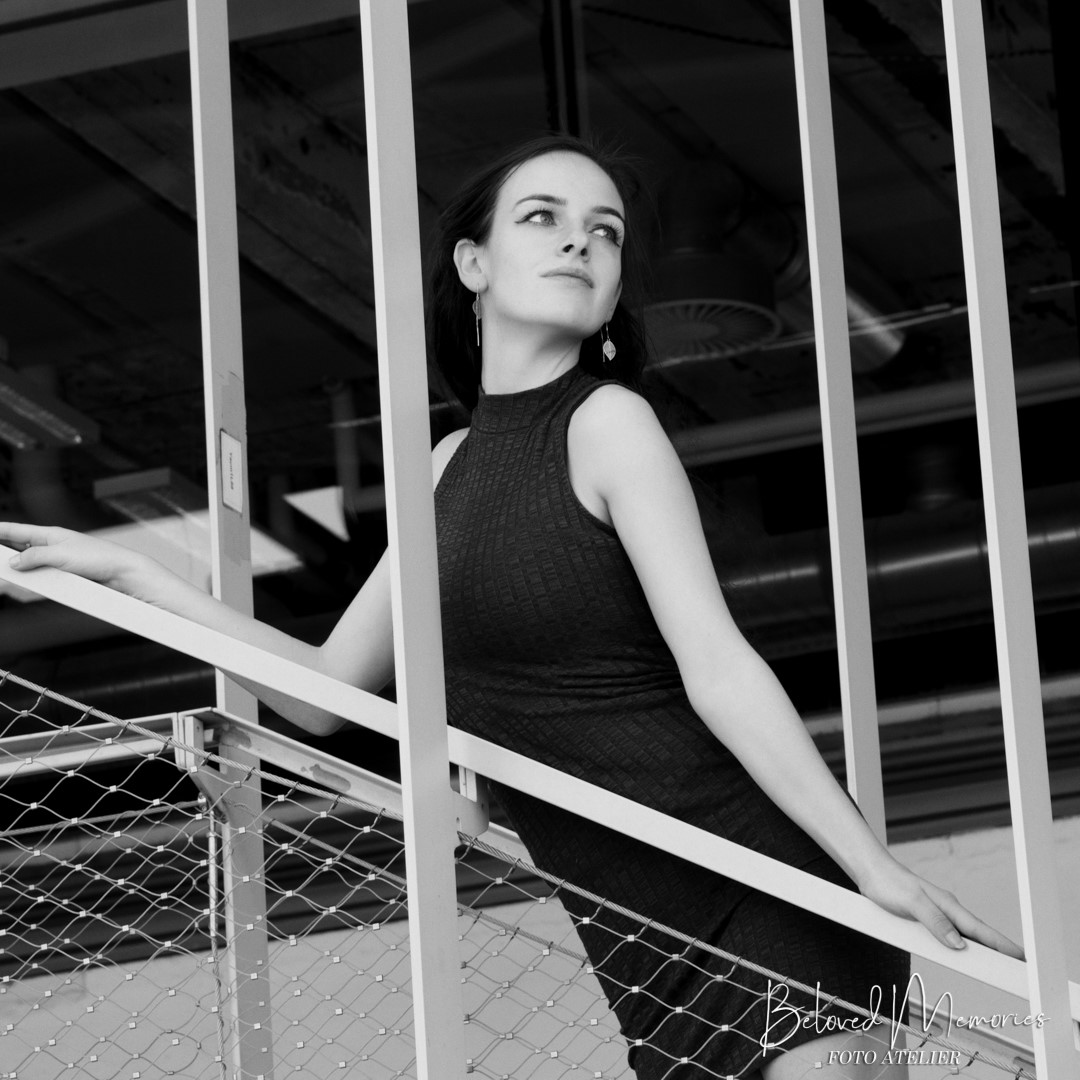 Uit de fotoshoot met model Annefleur. Foto Atelier Beloved Memories Eindhoven