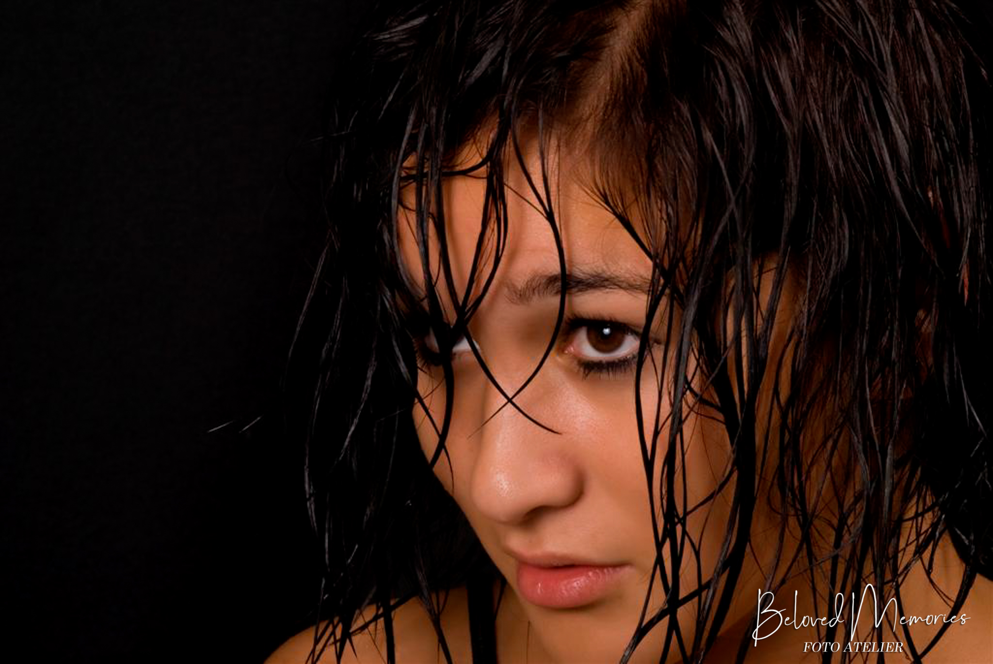 Portret met model Jennifer