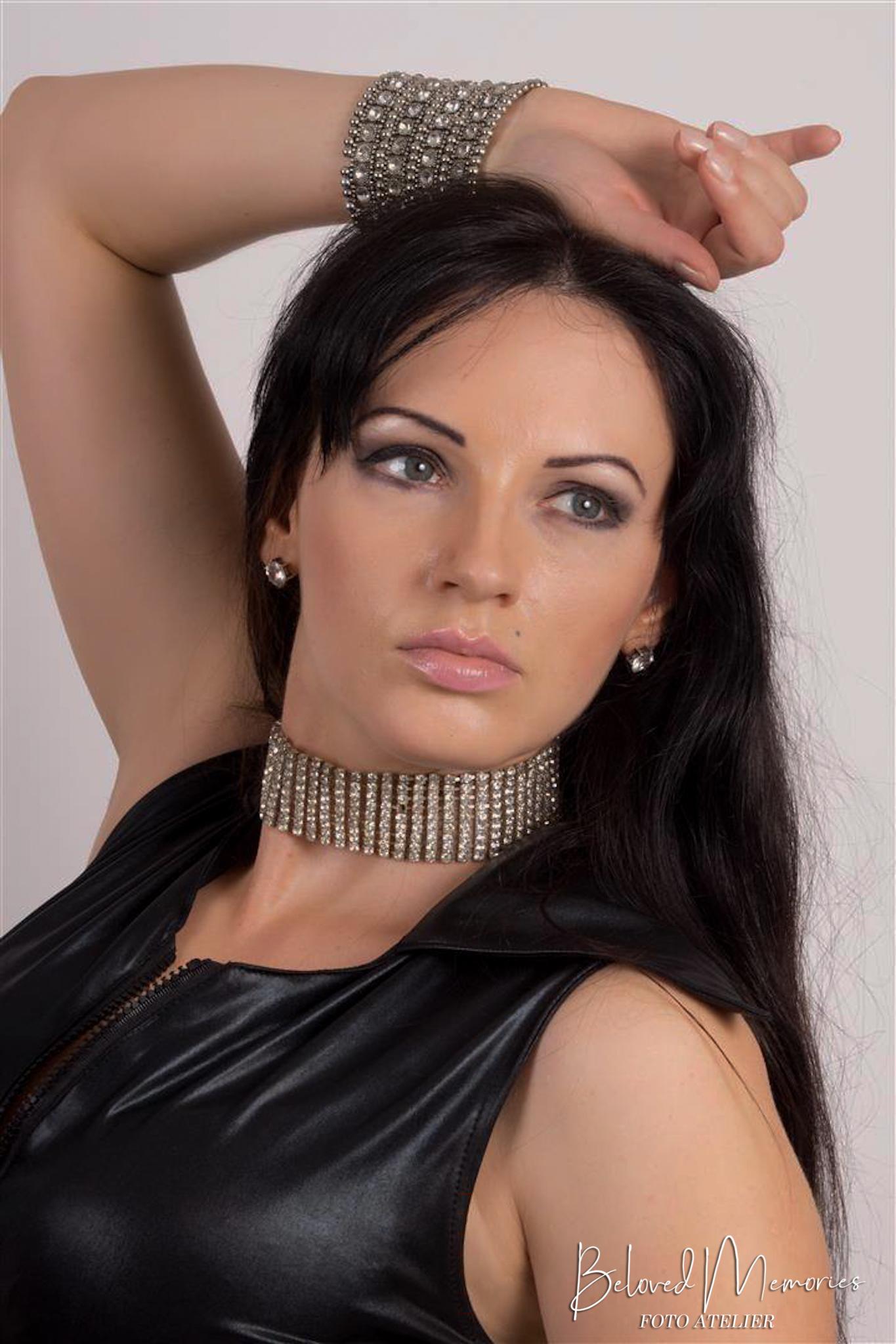 Portret met model Ewa