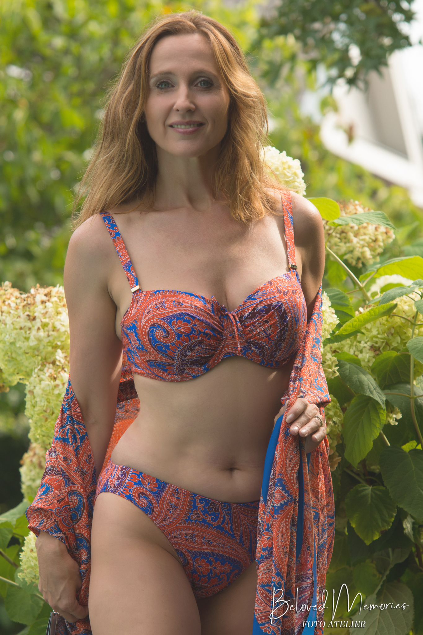 Model Inge. Promotie badkleding