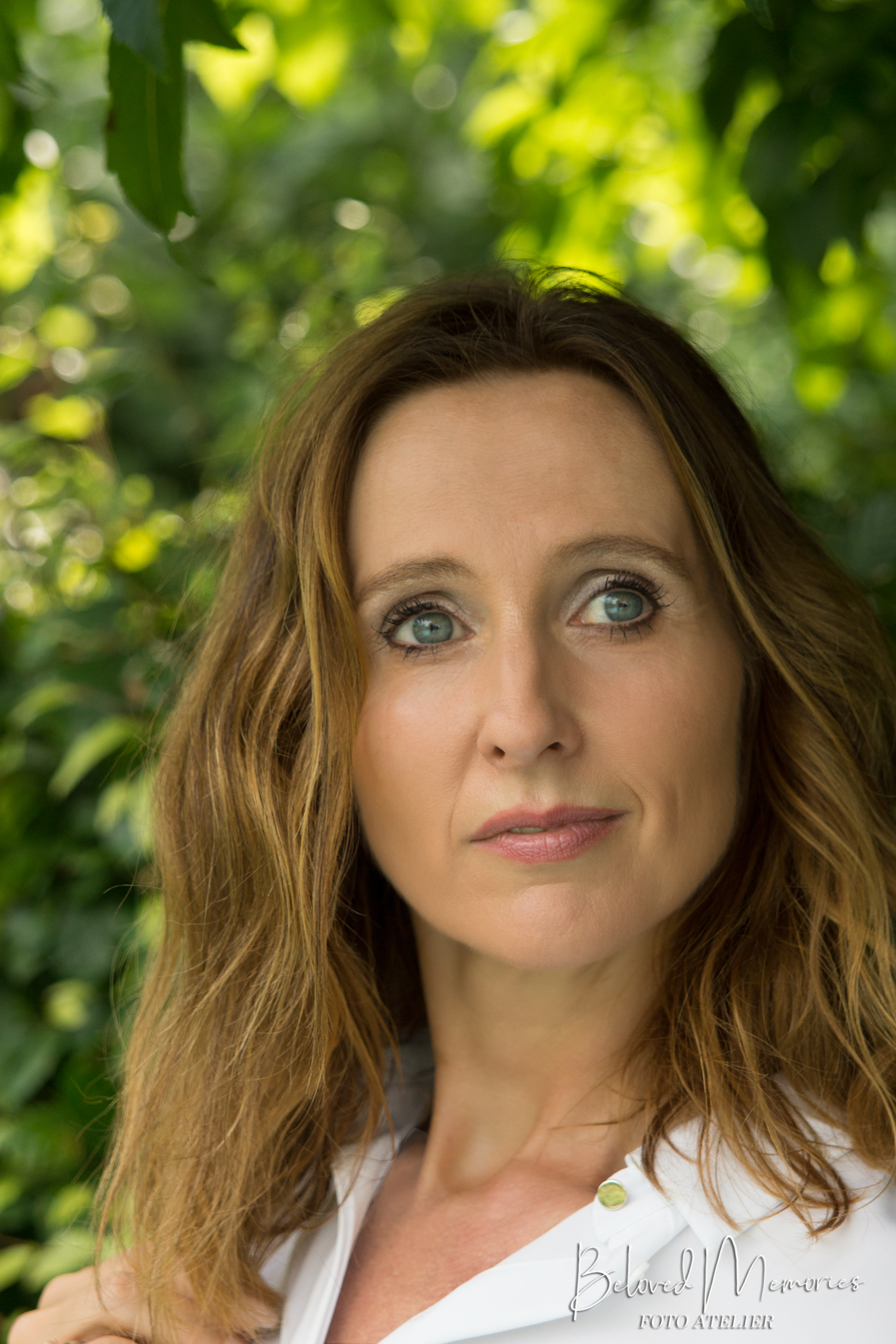 Portret Inge met natuurlijk licht