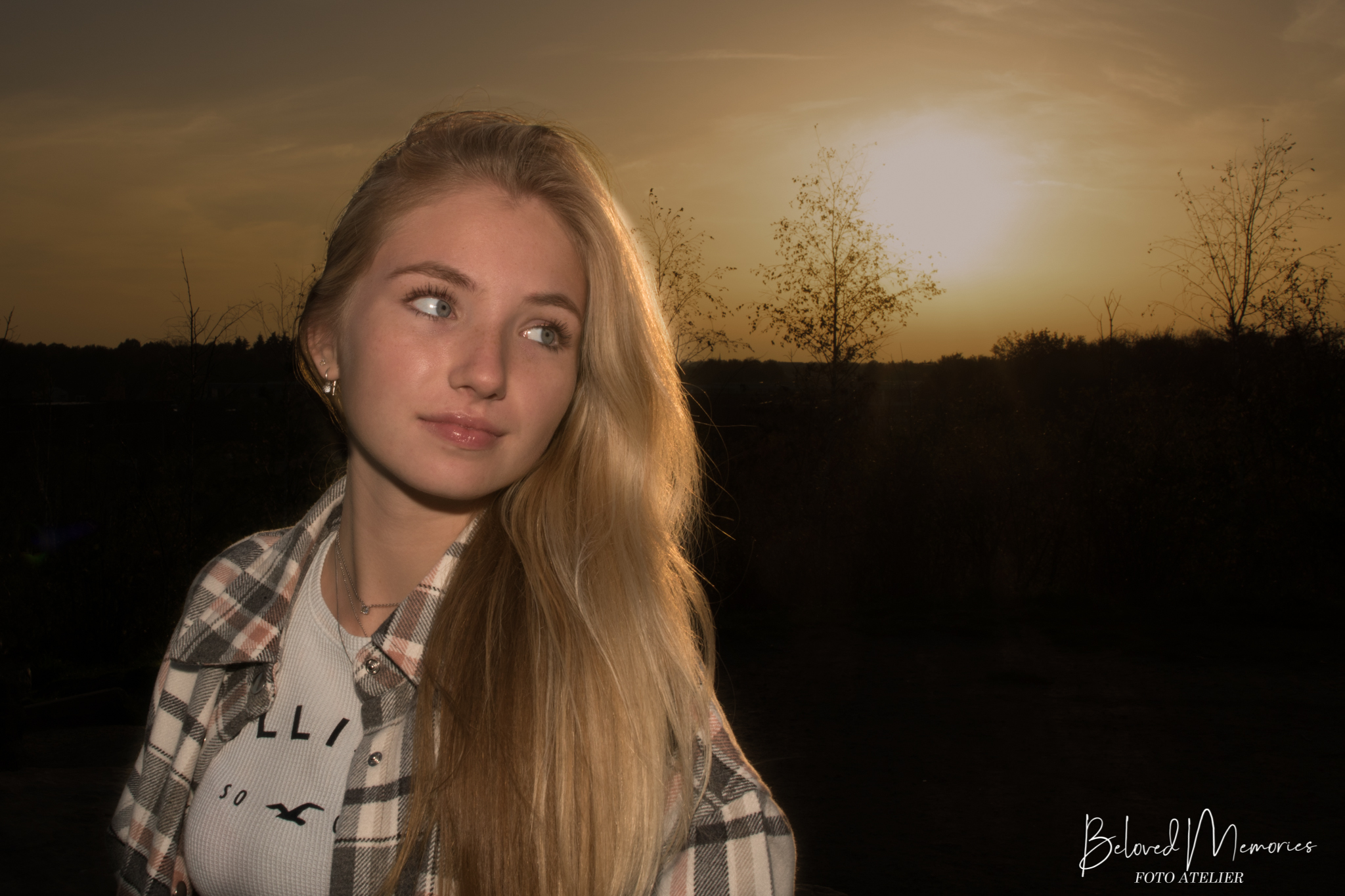 Golden Hour portret met Lonne