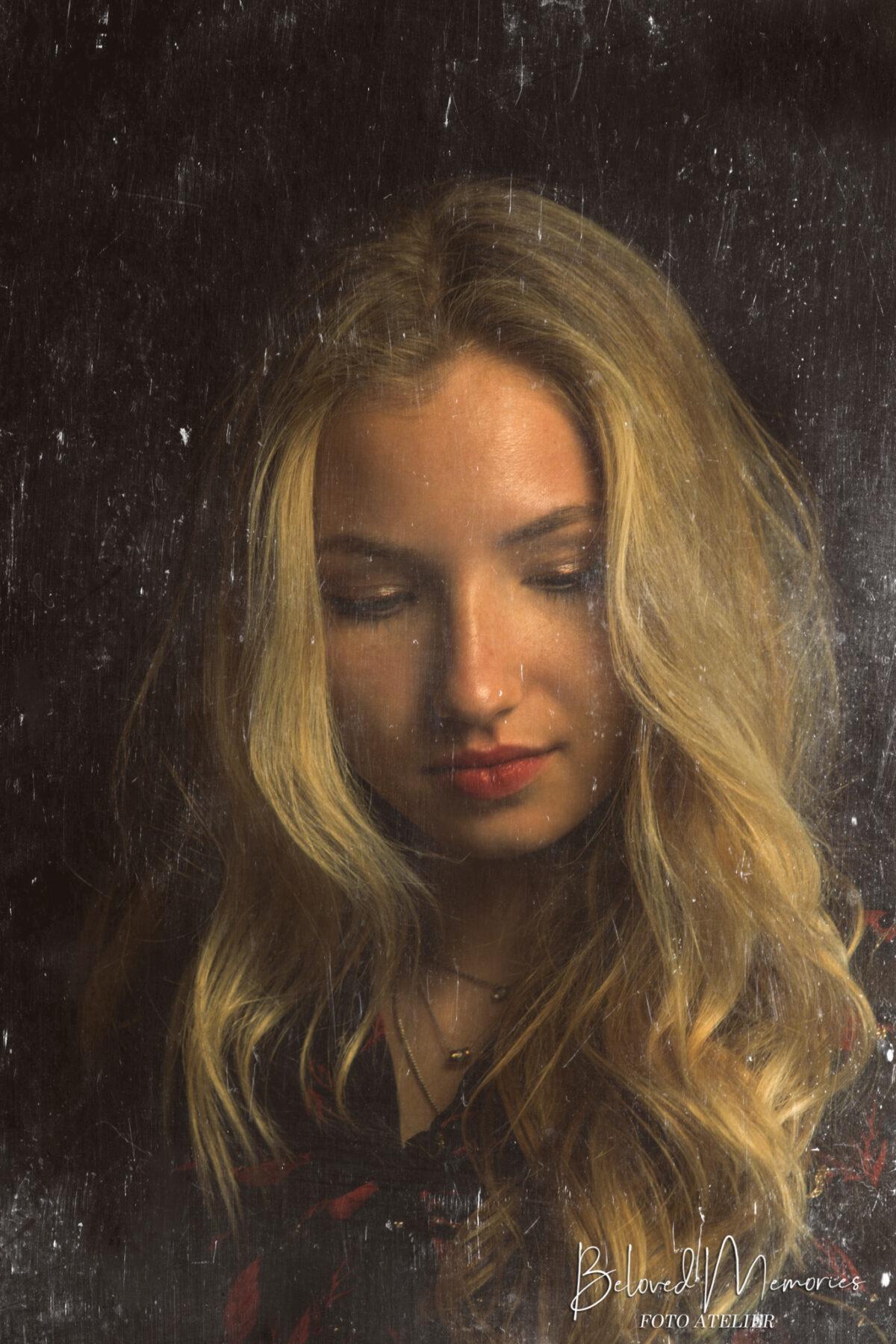 Bewerking portret Lonne