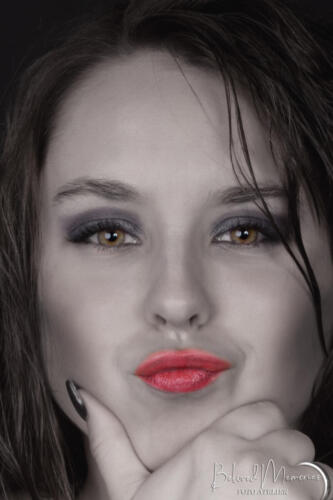 Bewerking portret Anke